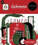 Home For Christmas Ephemera - Carta Bella