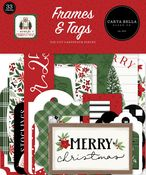 Home For Christmas Frames & Tags - Carta Bella