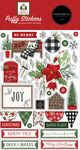 Home For Christmas Puffy Stickers - Carta Bella