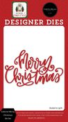 Lettered Merry Christmas Die Set - Carta Bella