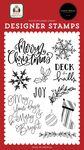 Joy Stamp Set - Home For Christmas - Carta Bella