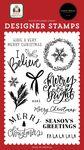 I Believe Stamp Set - Home For Christmas - Carta Bella