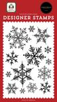 Snowflake Season Stamp Set - Home For Christmas - Carta Bella