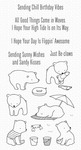 Beach Bear Clear Stamps - My Favorite Things