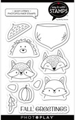 Acorn Critters Stamp Set - Say It With Stamps - Photoplay
