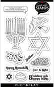 Happy Hanukkah Stamp Set - Say It With Stamps - Photoplay