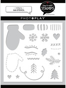 Mitten 6x6 Stencil - Say It With Stamps  - Photoplay
