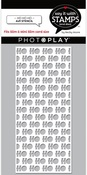 HO HO HO 4x9 Stencil - Say It With Stamps  - Photoplay