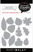 Autumn Leaves Dies - Say It With Stamps  - Photoplay