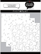 Christmas Lights Stencils 3-piece 6x6 - Say It With Stamps  - Photoplay - PRE ORDER
