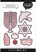 Happy Hanukkah Dies - Say It With Stamps  - Photoplay - PRE ORDER