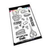 Desktop Treasures Stamp Set - Catherine Pooler