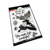 Butterfly in Bloom Stamp Set - Catherine Pooler