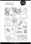 Farmer's Market 6x8 Stamps - Say It With Stamps  - Photoplay
