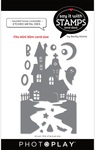 #6 Haunted House Coverplate Die - Say It With Stamps  - Photoplay