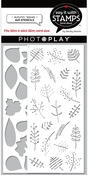 Autumn Leaves 4x9 Stencil 2-Piece - Say It With Stamps  - Photoplay - PRE ORDER