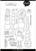Snowmen 6x8 Stamps - Say It With Stamps  - Photoplay