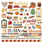 Autumn Greetings - Element Stickers - Photoplay
