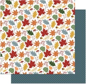 Leaves Are Falling Paper - Autumn Greetings - Photoplay