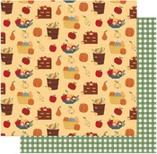 Fruit Baskets Paper - Autumn Greetings - Photoplay