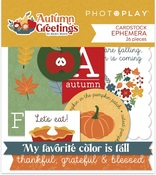 Autumn Greetings Ephemera - Photoplay - PRE ORDER