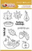 Autumn Greetings 4x6 Stamp Set - Photoplay