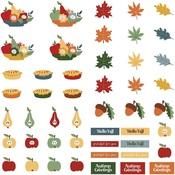 Autumn Greetings - Pre-Colored Dies Paper - Photoplay - PRE ORDER