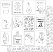 Autumn Greetings - Color Me Paper - Photoplay - PRE ORDER