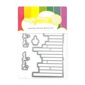 Labelmaker Rainbows Matching Die - Waffle Flower Crafts