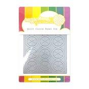 Quilt Circle Panel Die - Waffle Flower Crafts
