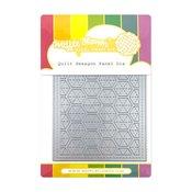 Quilt Hexagon Panel Die - Waffle Flower Crafts