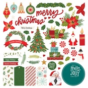 The North Pole Trading Co. Card Kit Stickers - Photoplay - PRE ORDER