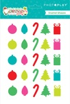 Tulla & Norbert's Christmas Party Enamel Shapes - Photoplay - PRE ORDER