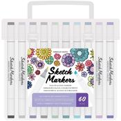 60 Piece Value Pack Sketch Markers  - American Crafts - PRE ORDER