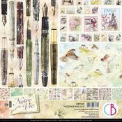 Notre Vie 12x12 Patterns Pad - Ciao Bella - PRE ORDER