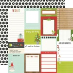 Journal Elements Paper - Make it Merry - Simple Stories