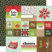 2x2/4x4 Elements Paper - Make it Merry - Simple Stories
