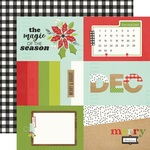 4x6 Elements Paper - Make it Merry - Simple Stories