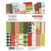 Make it Merry 6x8 Paper Pad - Simple Stories