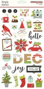 Make it Merry 6x12 Chipboard Stickers - Simple Stories - PRE ORDER