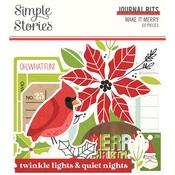 Make it Merry Journal Bits - Simple Stories - PRE ORDER