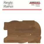 Make it Merry Number Bits - Simple Stories - PRE ORDER