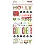 Make it Merry Foam Stickers - Simple Stories