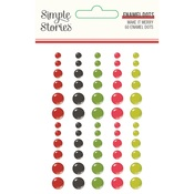 Make it Merry Enamel Dots - Simple Stories