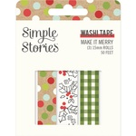Make it Merry Washi Tape - Simple Stories