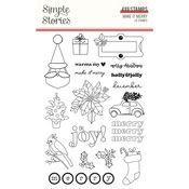 Make it Merry Stamps - Simple Stories - PRE ORDER