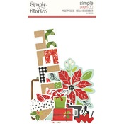 Hello December Simple Pages Page Pieces - Simple Stories - PRE ORDER