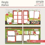Good Cheer Simple Pages Page Kit - Simple Stories