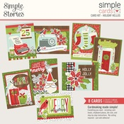 Holiday Hellos Simple Cards Card Kit - Simple Stories - PRE ORDER