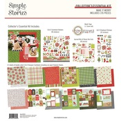 Make it Merry Collector's Essential Kit - Simple Stories - PRE ORDER